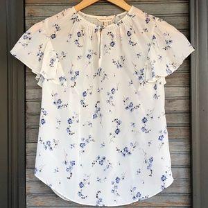 Silk blouse. Rebecca Taylor.